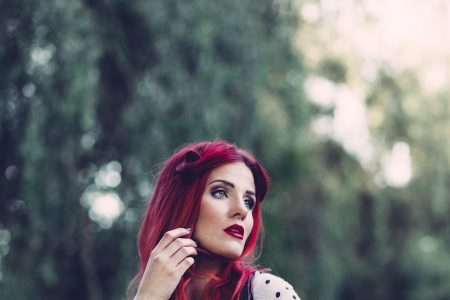 Retro style shoot in the park 4 - free stock photo