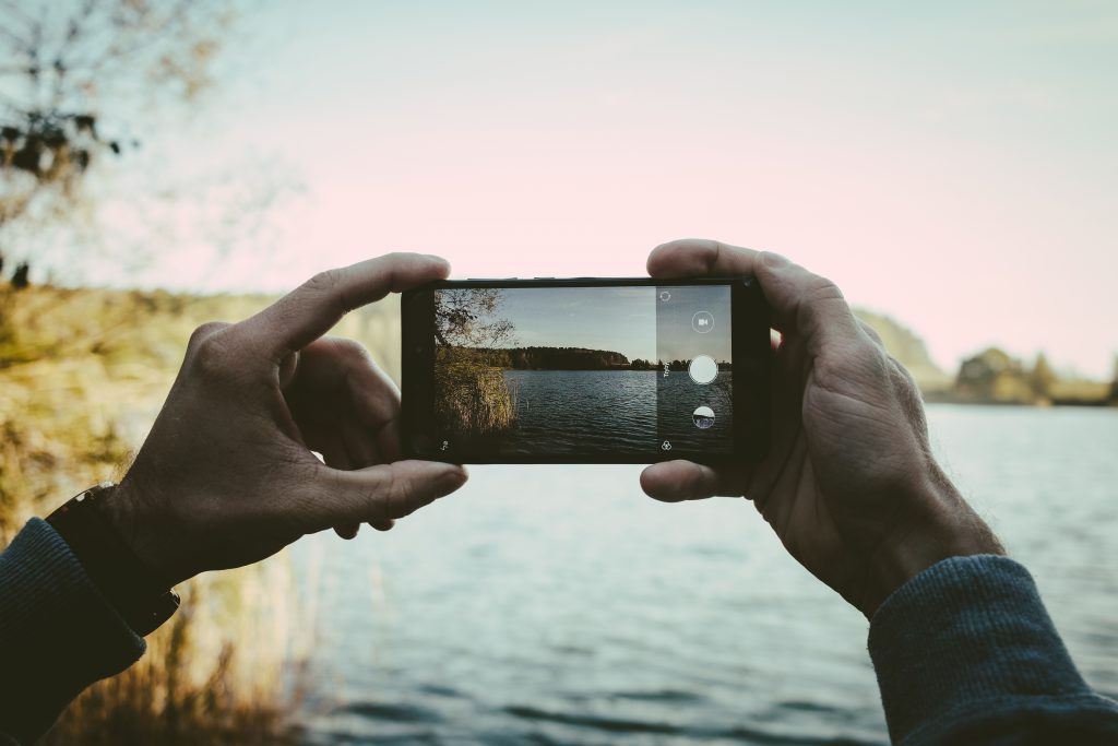 Man taking a picture with his cellphone 2 - free stock photo