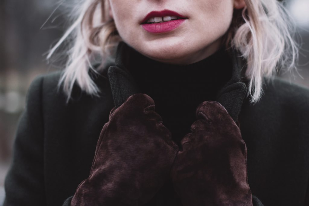 Moody outdoor female portrait closeup 3 - free stock photo