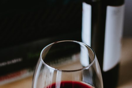 Glass of red wine - free stock photo