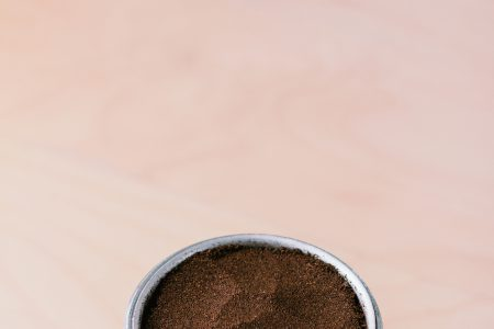 Ground coffee in a percolator - free stock photo