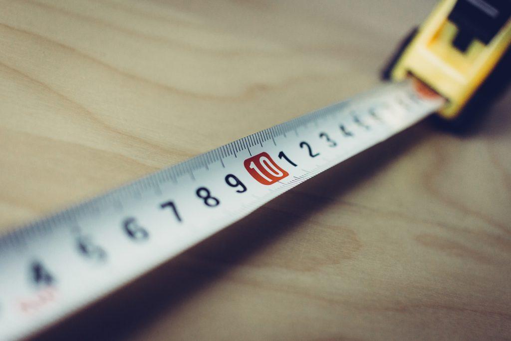 Metal tape measure tool 3 - free stock photo