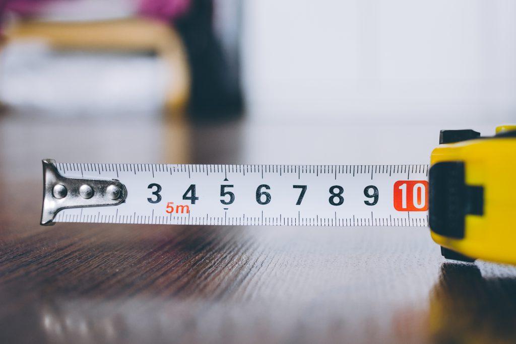 Metal tape measure tool 4 - free stock photo