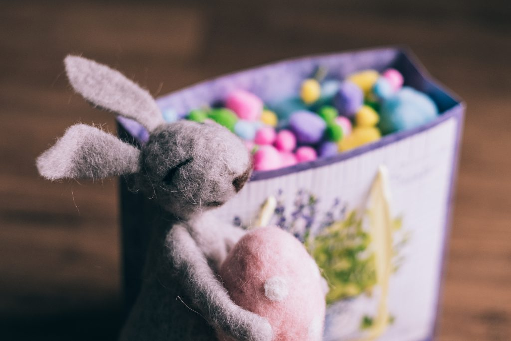 Easter bunny gift 6 - free stock photo