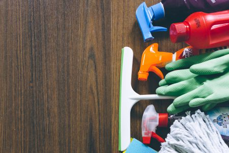 Household cleaning products 2 - free stock photo