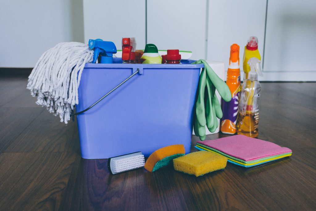 Household cleaning products 3 - free stock photo