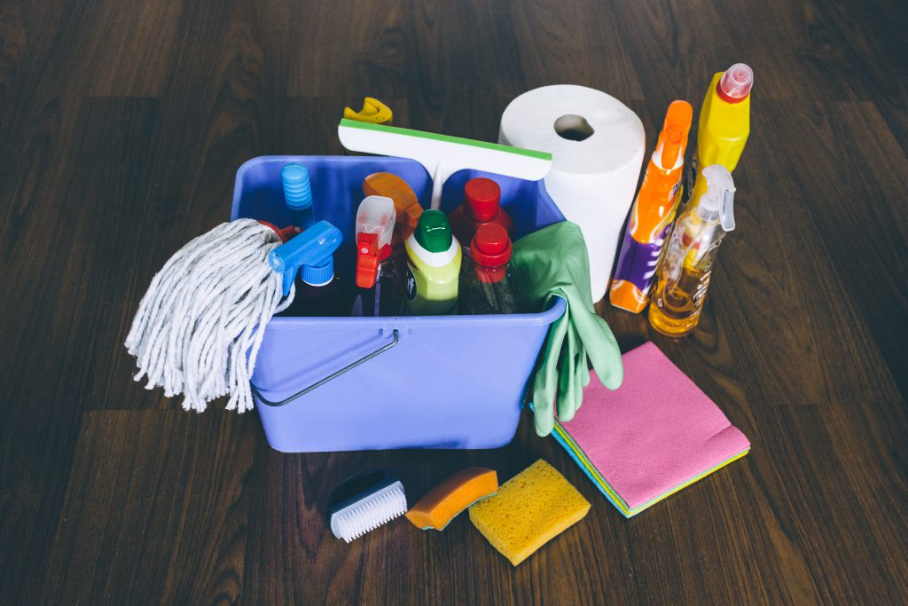 Household cleaning products 4 - free stock photo