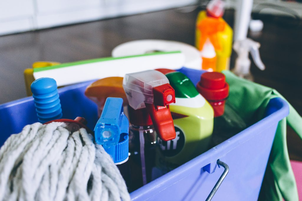 Household cleaning products 5 - free stock photo