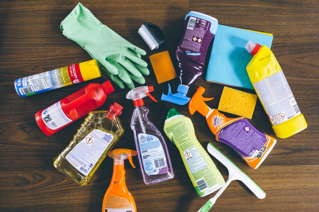 Household cleaning products 6 - free stock photo