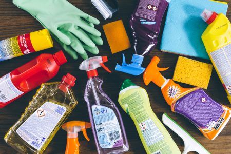 Household cleaning products 7 - free stock photo