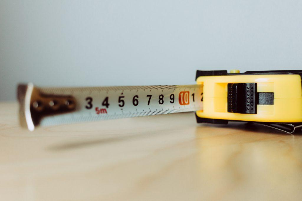 Metal tape measure tool 6 - free stock photo