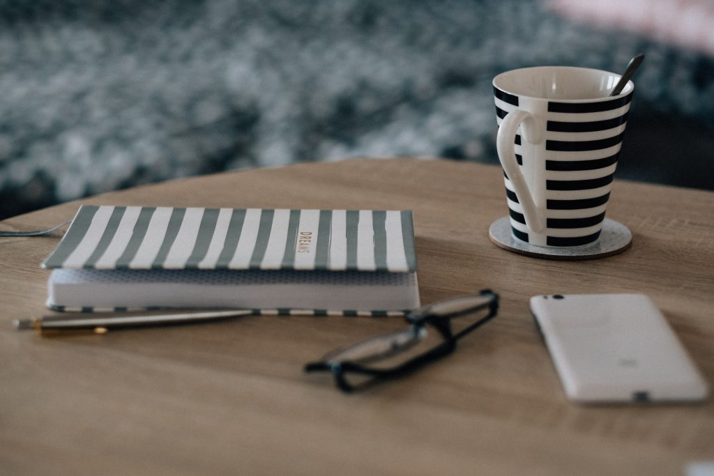 Dreams notebook on the table - free stock photo
