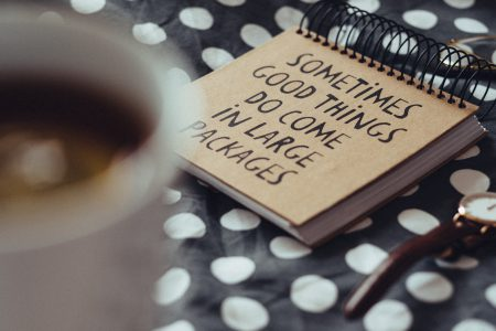 Good things notebook 3 - free stock photo