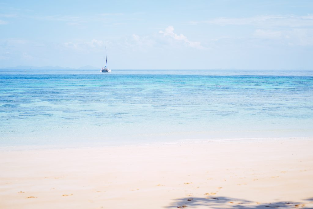 A sandy beach in Thailand - free stock photo