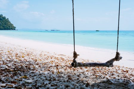A sandy beach in Thailand 3 - free stock photo