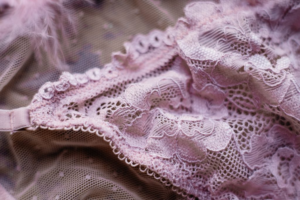 Pink lace lingerie 3 - free stock photo
