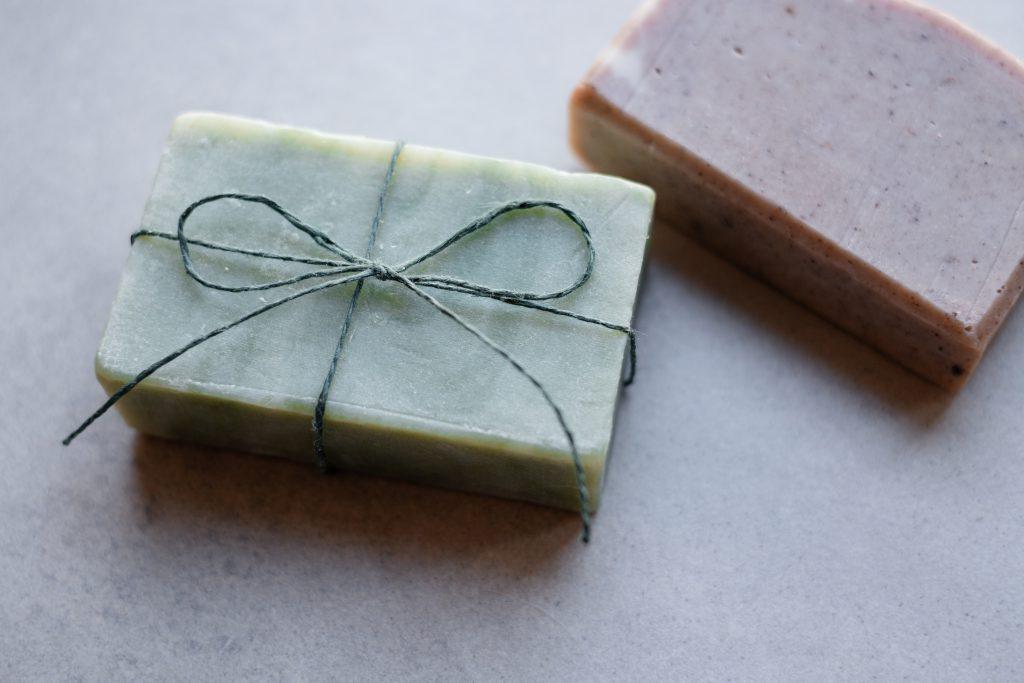 Handmade soap bars - free stock photo