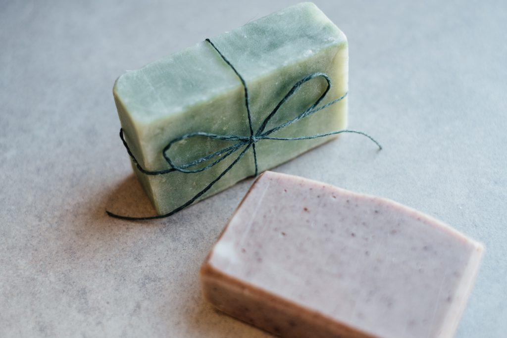 Handmade soap bars 2 - free stock photo