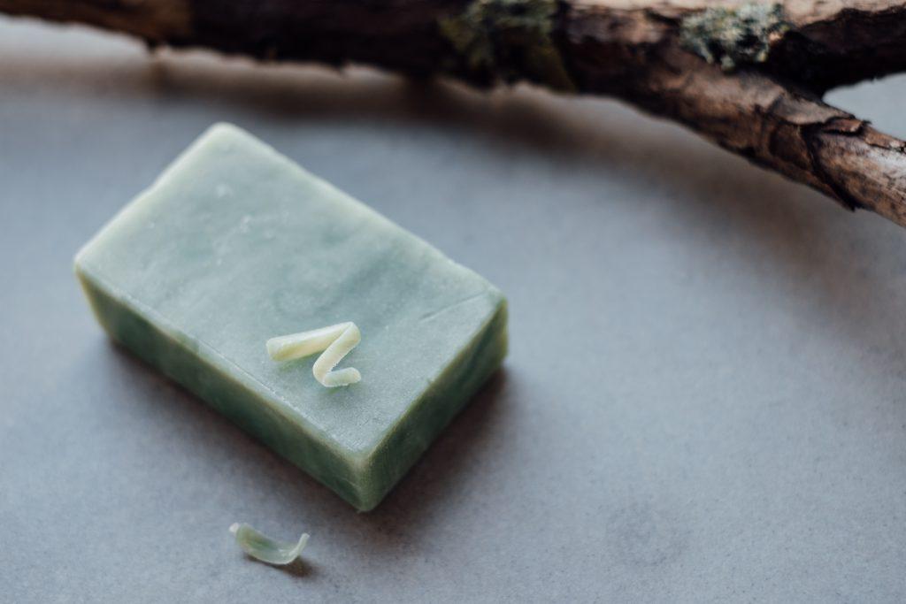 Mint handmade soap bar 2 - free stock photo