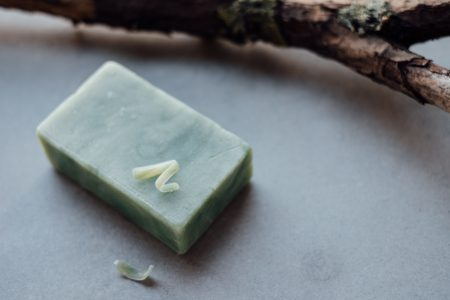 Mint handmade soap bar 2 - free stock photo