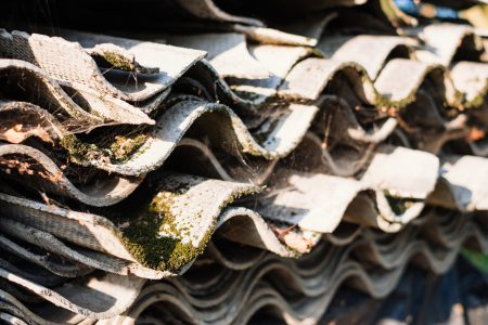 Old fibre cement sheets 2 - free stock photo