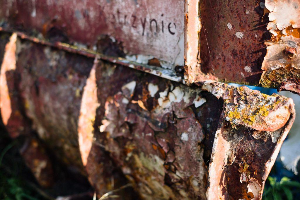Old rusty farm equipment - free stock photo