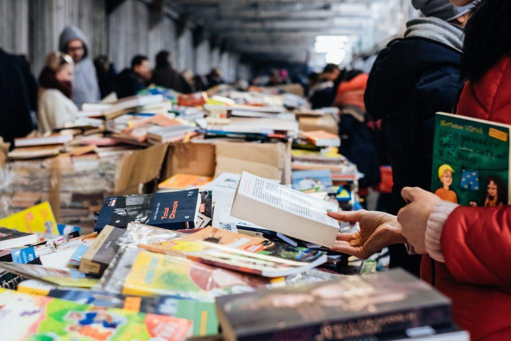 Book fair 7 - free stock photo
