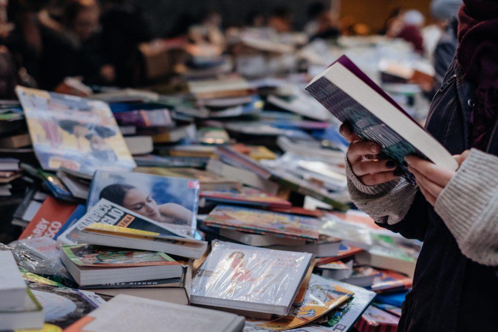 Book fair 8 - free stock photo