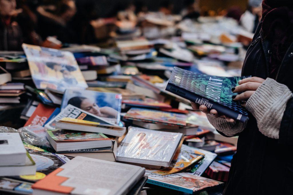 Book fair 9 - free stock photo