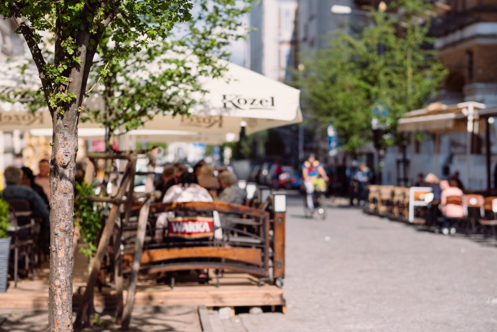 People dining at a restaurant outdoor seating 2 - free stock photo