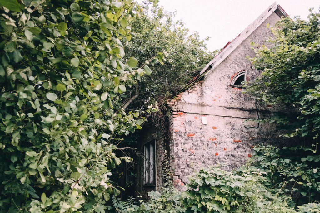 Abandoned ruined house 4 - free stock photo